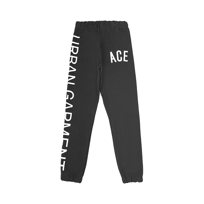 [S.V.ACE] URBAN SWEATPANT (Black) 스테레오 바이널즈