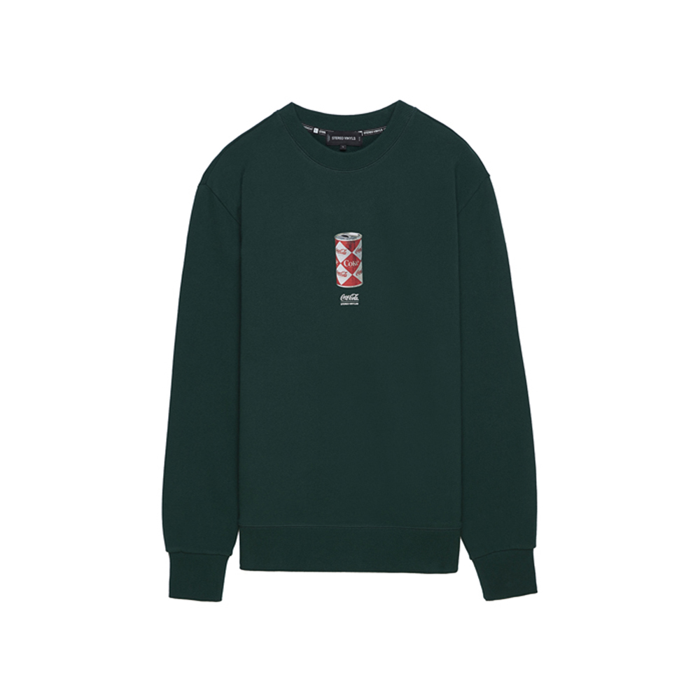 [CCC] Vintage Diamond Can Sweatshirt(GREEN)