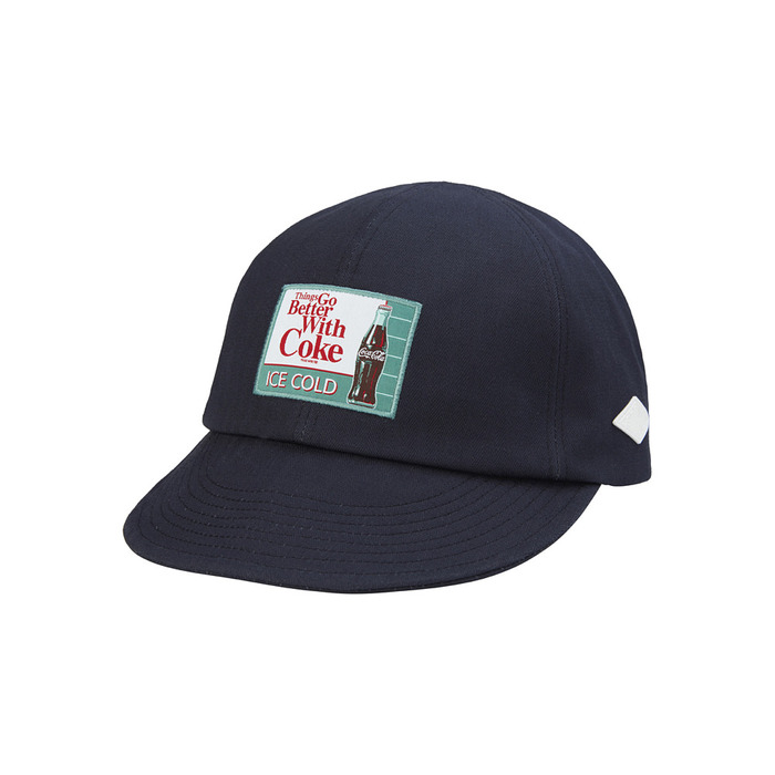[CCC] Ice Cold Coke A-3 Cap(NAVY) 스테레오 바이널즈