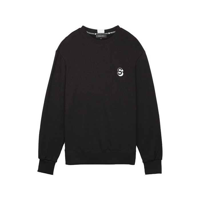 [AW16 Music] Realistic Sweatshirts(Black) 스테레오 바이널즈
