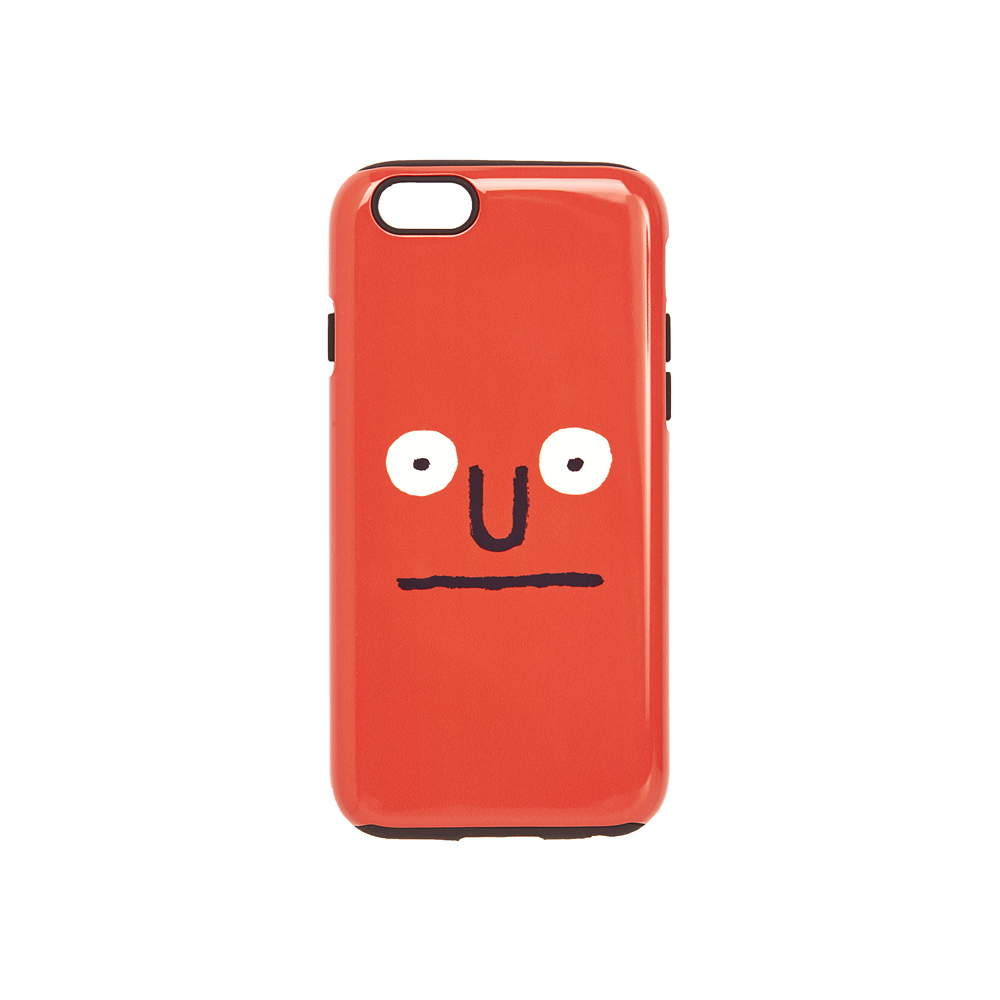 [AW16 JJ x SV] Face iPhone 6/6S Case(Orange) STEREO-SHOP