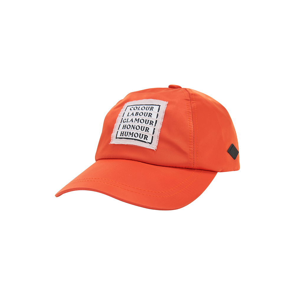 [SS17 Colour] Slogan Yacht Cap(Orange) 스테레오 바이널즈