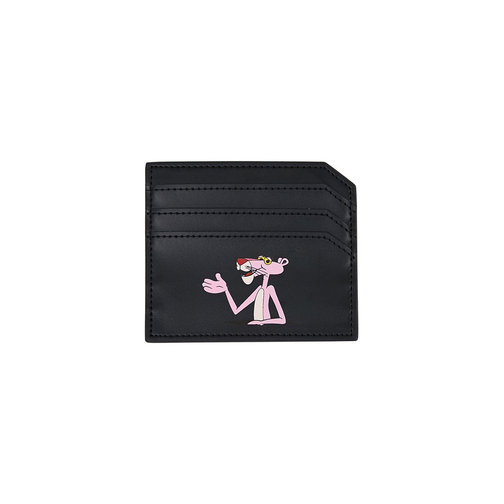 [Pink Panther] Card Wallet(Black) 스테레오 바이널즈