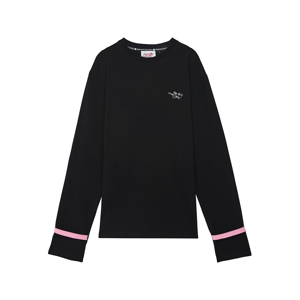 [AW17 Pink Panther] Long Sleeve(Black) 스테레오 바이널즈