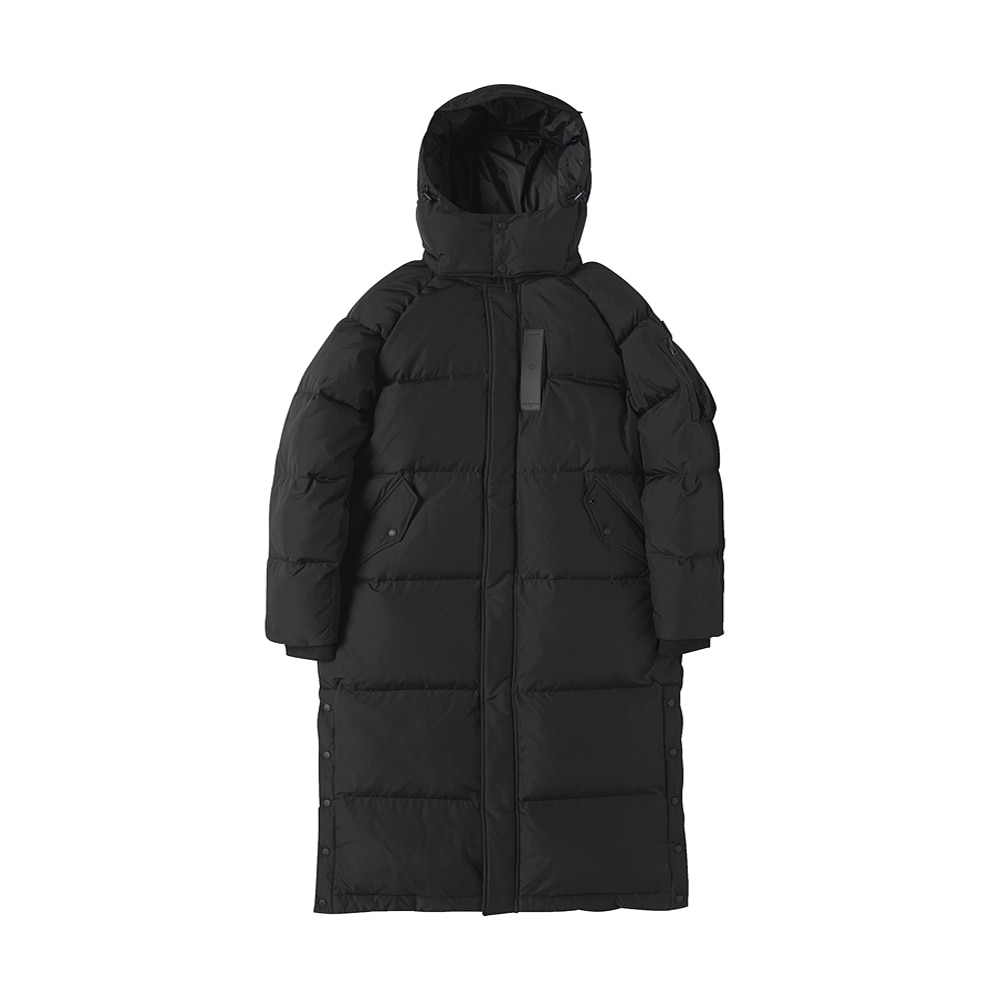 [AW17] MA-1 Long Down Parka(Black) 스테레오 바이널즈