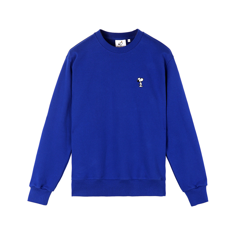 [SS18 Peanuts] Snoopy Sweatshirts(Royal Blue) 스테레오 바이널즈