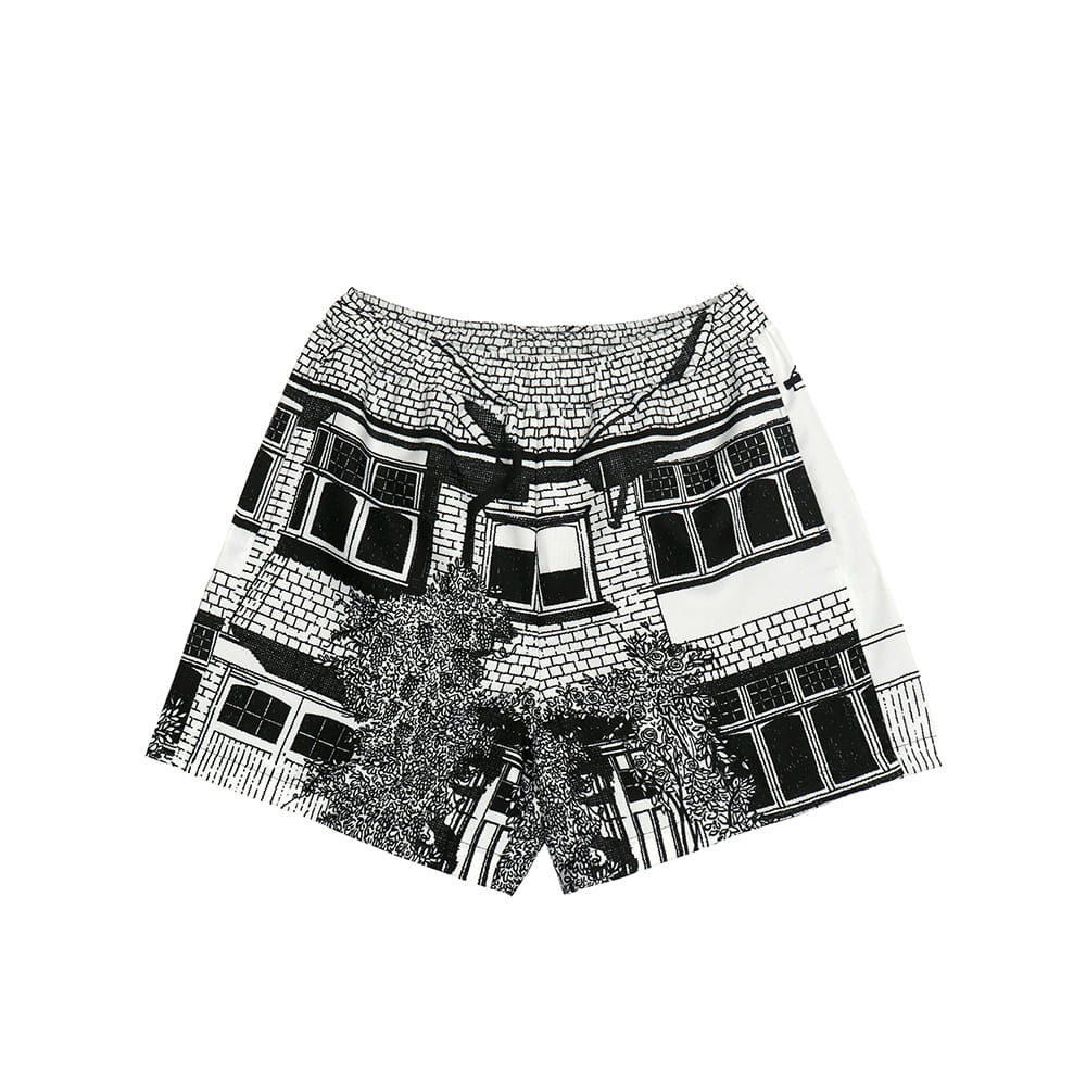 [SS18 Thibaud] Richmond Short Pants(White) 스테레오 바이널즈