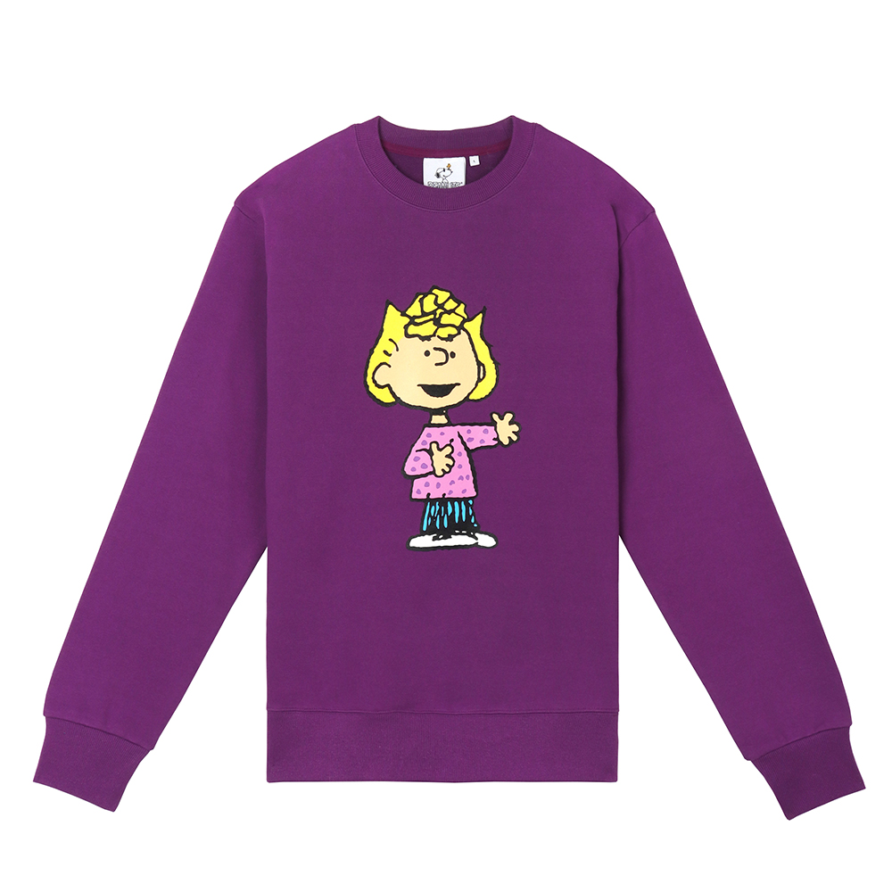 [FW18 Peanuts] Original Sweatshirts(Purple) 스테레오 바이널즈